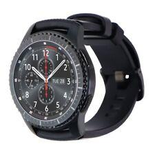 READ DESCRIPTION Samsung Gear S3 Frontier 46mm Watch - Gray/Large (Verizon)