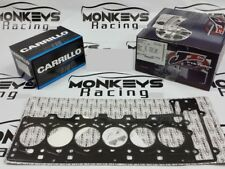 JE PISTON AND CARRILLO ROD, GASKET, BEARINGS KIT FOR BMW N54B30 84MM CR 10.2:1