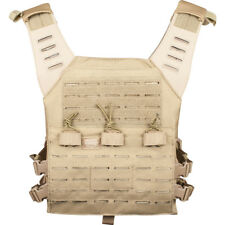 Valken Paintball Plate Carrier LC Tan Molle Vest Tactical (For Airsoft Use Only)
