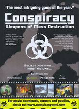 Conspiracy Weapons Of Mass Destruction 2005 Magazine Advert #4744