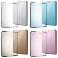 Soft Clear TPU Silicone Gel Case Back Cover for NEW Apple iPad 2017 9.7""