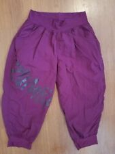 ZUMBA Dance Exercise Capri Pants Purple size Medium