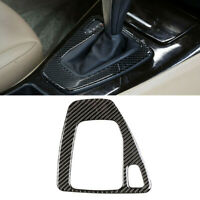 Car Real Carbon Fiber Gear Shift Panel Cover For BMW 3 Series E90 E92 E93 05-12