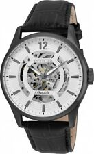New Mens Invicta 22597 Objet D Art Automatic White Skeleton Dial Watch