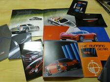 Giugiaro Aston Martin, Alfa Roméo Dossier de Presse Press Kit x 9 exemplaires