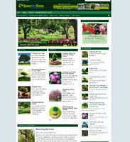 SAVE THE TREES BLOG WEBSITE WITH AFFILIATE STORE & NEW DOMAIN NAME