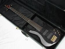 DEAN Edge Pro 5-string BASS guitar Trans Black new w/ HARD CASE - Flame Maple
