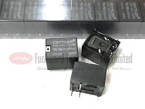 AZ8-1CH-12DSE ZETTLER Power Relay 6A 300VAC 5 Pins x 5PCS NEW