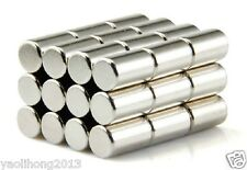 10pcs N50 Super Strong Round Cylinder Magnets 10mm x 15mm Rare Earth Neodymium