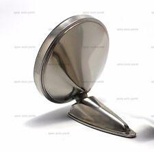 """5"""" DURANT STAINLESS STEEL MIRROR REPRODUCTION PORSCHE 356 911 912"""