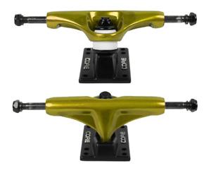 "CORE TRUCKS Skateboard Achsen 5.00"" Set (2 Stück) Gold/Schwarz / 7.5 - 8.0 Decks"