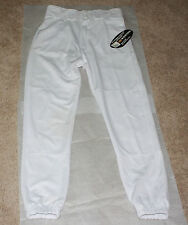 Adult Deluxe Easton Athletic Sport Pants in White Size Small 100% Polyester