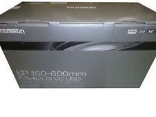 Tamron Digital Camera Lens SP 150-600mm f/5-6.3 Di VC USD A011 for Canon New!