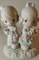 """To My Forever Friend"" Precious Moments Figurine 6"" ceraminc No Box"
