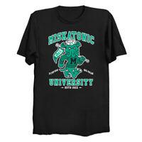 Miskatonic University Cthulhu HP Lovecraft Spooky Monster Mashup Black T-Shirt