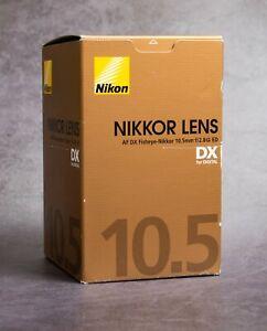 [DHL] Nikon NIKKOR 10.5mm f/2.8 CRC DX AF ED G Lens - Brand New