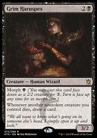 GRIM HARUSPEX NM mtg Khans of Tarkir Black - Human Wizard Rare
