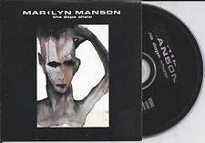 MARILYN MANSON - The dope show CD SINGLE 2TR EU CARDSLEEVE 1998 VERY RARE!!