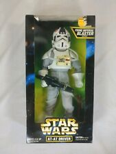 "1997 Star Wars AT-AT Driver with Firing Imperial Blaster 12"" Kenner"