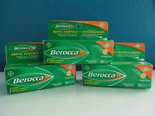 Berocca Lot 3X10=30 Tablet Orange Energy 1 A Day Mental Sharpness Vitamin C 5/20