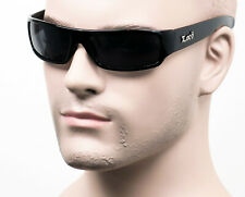 Locs OG Cholo Gangster Street Wrap Shades Sunglasses Dark Smoke Black LC1