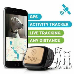 Mini Pet Dog Cat GPS Locator Tracker Tracking Anti-Lost Device Waterproof UK New