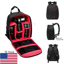 Universal Camera DSLR Bag Waterproof Backpack Video Photo Bags For D3200 D7100