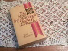 RARE NIV 1973 copyright New International New Testament Bible pre 84 1984 NT 5