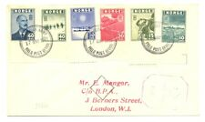 NORWAY 1943 NORWEGIAN ARMY FPO - CENSOR - TO LONDON ---VF