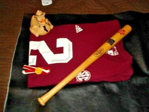 Vintage Louisville Slugger  Mini Bat  Texas A&M Field SEALED + DUCK,SHIRT, PIN