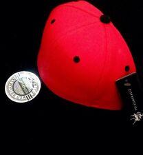 2X Red Black Plain Adjustable Snapbacks Flat Bill Hat Cap Green Free STICKERS