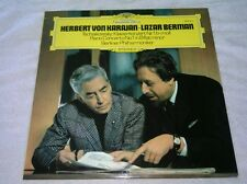 Herbert Von Karajan Lazar Berman Tschaikowski LP Berliner Philarmoniker DG 1976
