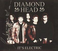 Diamond Head(Signed CD Album)It's Electric-Secret-SMACD941-UK-2006-New