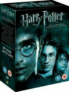 Harry Potter Complete 1-8 Movie DVD Collection Films Box Set - Region 2