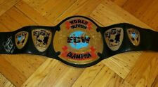 ECW Television Championship Replica Belt Signed by Dusty Rhodes Adult Size