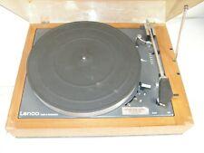 Vintage Lenco Swiss L55? No Model# Turntable Record Player Shure M44-7 Cartridge