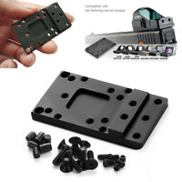 Glock Rear Plate Base Mount fit for Universal Red Dot Sight Handgun Accessories