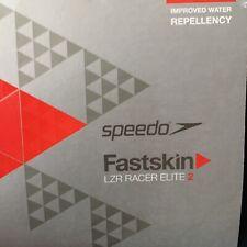 SPEEDO Fastskin LZR Male Elite Jammer Size 26 Blue/Black NWT