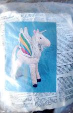 Unicorn Kit Vintage Stuffed Animal Flying Rainbow Vogart Crochet Creatures