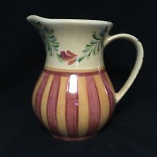 SOUTHERN LIVING AT HOME GAIL PITTMAN CARAFE PITCHER SIENNA 48 OZ