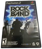 Rock Band Game PS2 PlayStation 2 Video Game