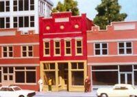 RIX 6002 HO SMALLTOWN USA TONY'S GYM Model Railroad Building Kit FREE SHIP