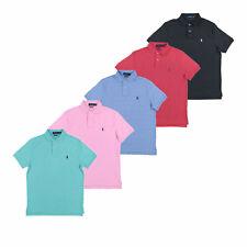 Polo Ralph Lauren Para Hombre Custom Slim Fit Suave Enclavamiento Polo Nuevo Nuevo Con Etiquetas S M L XL XXL