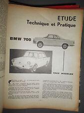 BMW 700 + coupé et cabriolet : revue technique RTA 223