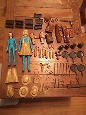 Marx Jane Janet West dolls, accessories, clothing BOTW Lot.