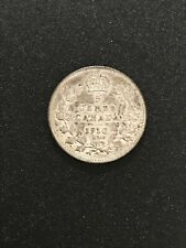 Canada 1910 Silver 5 Cent Coin Nickel Great Condition.