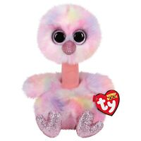 TY BEANIE BOOS - AVERY THE OSTRICH STUFFED ANIMAL SOFT PLUSH TOY 15cm **NEW**