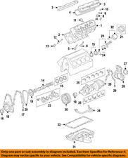 GM OEM-Engine Crankshaft Crank Main Bearing 89017572