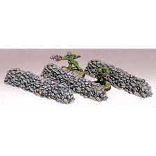 """Armorcast 28mm Resin ACW015 4"""" Long Wall w/ Small Rocks Frostgrave New"""