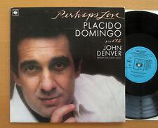 CBS 73592 Perhaps Love Placido Domingo with John Denver 1981 NEAR MINT + insert
